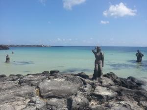 Haenyo Statues